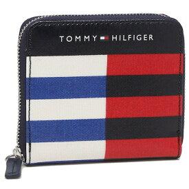 TOMMY HILFIGER 折財布 アウトレット レディース トミーヒルフィガー 6950158 467 ネイビーマルチ