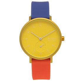 SKAGEN 腕時計 レディース スカーゲン SKW2847 イエロー マルチ