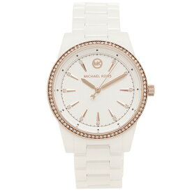 MICHAEL KORS 腕時計 レディース RITZ 37MM マイケルコース MK6837 ホワイト