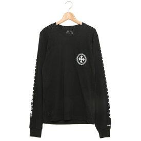 CHROME HEARTS ロングTシャツ メンズ クロムハーツ C17-2D BLACK