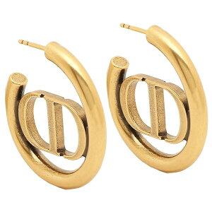 Christian Dior ピアス アクセサリー 30モンテーニュ フープ ゴールド レディース クリスチャンディオール E1285 MTGMT 907