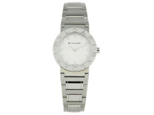 ブルガリ 時計 BVLGARI 腕時計 レディース ブルガリ ダイヤインデックス ホワイト BB26WSS/12 シリアル有