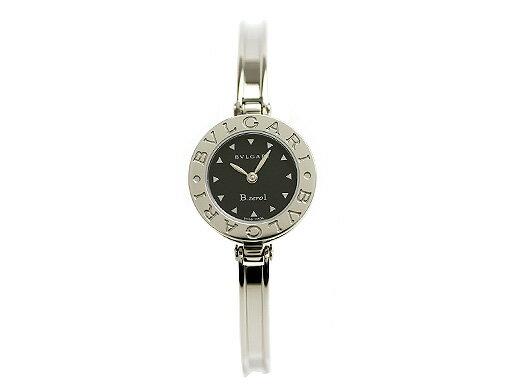 ブルガリ 時計 BVLGARI 腕時計 レディース B-ZERO1 ビーゼロワン ブラック BZ22BSS Mサイズ ウォッチ シリアル有