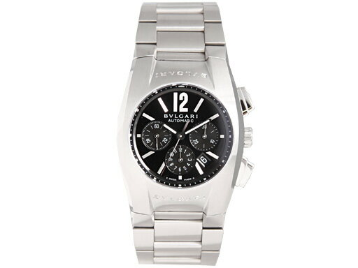 ブルガリ 時計 レディース BVLGARI 腕時計 エルゴン オートマチック クロノグラフ ブラック ボーイズ EG35BSSDCH ウォッチ シリアル有