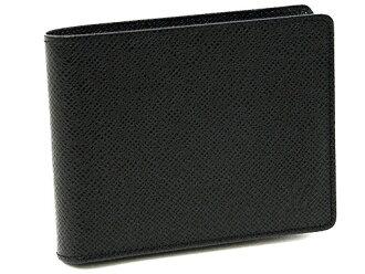 Louis Vuitton wallets LOUIS VUITTON Vuitton M31112 Taiga portofouillefrolin mens 2 fold wallet ardoise