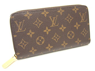 Louis Vuitton wallets LOUIS VUITTON Vuitton wallet M60017 Monogram zipper wallet large zip around wallets