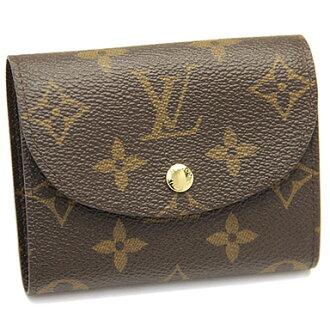 루이비통 지갑 LOUIS VUITTON 뷔 M60253 모노 그램 포 이유 엘렌 2 개 골절 지갑