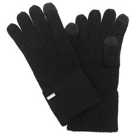 【訳ありアウトレット】COACH 手袋 アウトレット レディース コーチ F34259 BLK ブラック【ラッピング不可商品】
