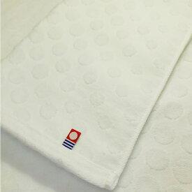 今治タオル ドットホワイトフェイスタオル 10枚セット【34×80cm】 特価 まとめ買い