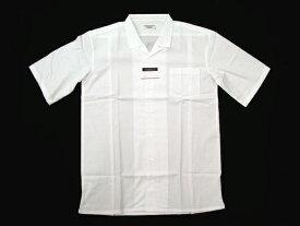 【オフホワイト】開襟シャツ半袖・通常丈73cm水平カット [男子スクールシャツ] 通学用学生シャツ ★2枚で送料無料★ PH5802 弱虫ペダル衣装提供