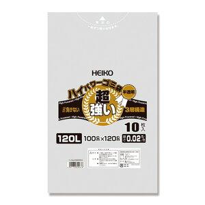HEIKO ハイパワーゴミ袋 シモジマ 006605004 4901755309676 ●容量:120l 1P【50×セット】