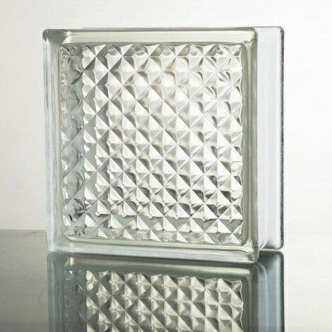 【送料無料】6個セット ガラスブロックガラス 厚み95mm