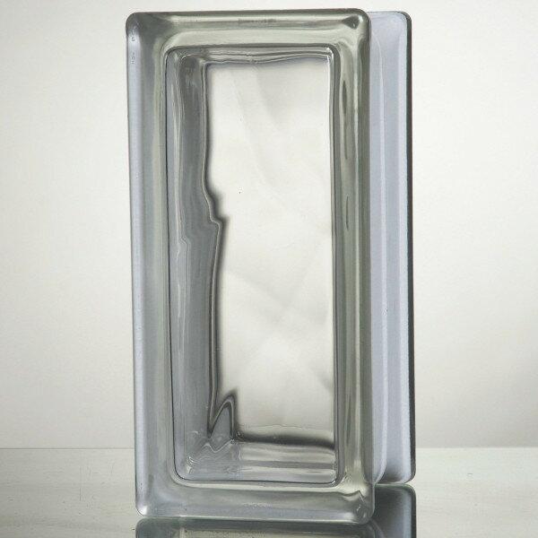 【送料無料】ガラスブロック 国際基準サイズ 世界で有名なブランド品 厚み80mmクリア色雲ハーフ