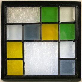 【送料無料】ステンド グラス ステンドグラス ステンドガラス デザインパネル200角