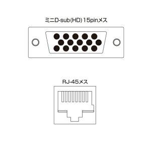サンワサプライVGA-EXAVL8AVエクステンダー(送信機・8分配)