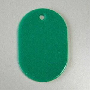 (まとめ) 番号札 クラウン 番号札 小判型・スチロール製 緑 CR-BG30-G 4953349082113 ●小●縦45×横30mm 1箱【5×セット】