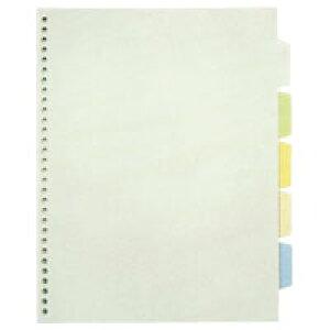 (まとめ) ファイル用インデックス キングジム 透明インデックスポケット(多穴) 103CK 4971660173808 ●規格:A4判タテ型●穴数:30穴●仕様:5色5山5枚1組 1組【30×セット】