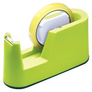 (まとめ) テープカッター ソニック テープカッター スリム グリーン TC-227-G 4970116032775 1個【20×セット】