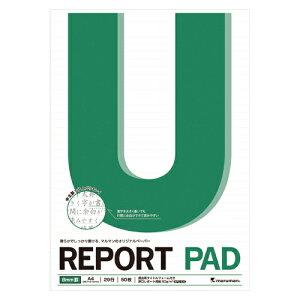 (まとめ) レポートパッド マルマン レポートパッド P142A 4979093142026 ●規格:A4判●中紙枚数:50枚 1冊【50×セット】