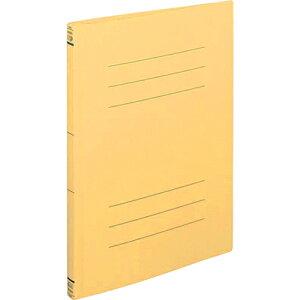 (まとめ) フラットファイル ナカバヤシ フラットファイルJ イエロー フF-J100Y 4902205539063 ●外寸(縦×横):374×272mm●背幅:18mm 1冊【100×セット】