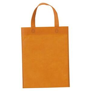 (まとめ) 手提袋 サンナップ 不織布バッグ オレンジ FCB-A4ORN 4901627068816 1個【10×セット】
