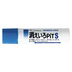 (まとめ) スティックのり トンボ鉛筆 消えいろピット PT-TC 4901991650167 ●容量:約10g 1本【100×セット】
