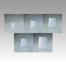 (まとめ) カード立 セキセイ サインスタンド 片面用 タテ SSD-2732-00 4974214143043 ●規格:写真L判タテ●収容寸法:縦127×横89mm 1個【50×セット】