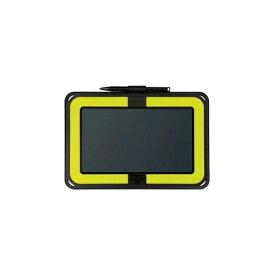 KING JIM 電子メモパッド 「ブギーボード」 横型モデル 黄緑 BB-10YG