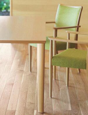 テーブル直径900テーブル天板+脚業務用家具:tableシリーズ★メラミン天板ブナ材脚シンプルダイニングテーブル送料無料日本製受注生産