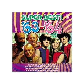 【スーパーセールでポイント最大44倍】オムニバス 青春の洋楽スーパーベスト'63-'64 CD