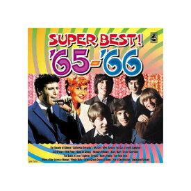 【スーパーセールでポイント最大44倍】オムニバス 青春の洋楽スーパーベスト'65-'66 CD