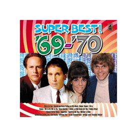【スーパーセールでポイント最大44倍】オムニバス 青春の洋楽スーパーベスト'69-'70 CD