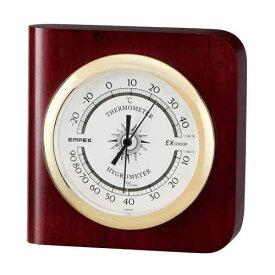 【マラソンでポイント最大44倍】EMPEX 温度・湿度計 カスタム 温度・湿度計 置き掛け兼用 TM-681