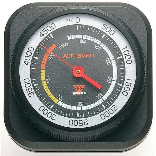 【ポイント20倍】EMPEX 高度・気圧計 アルティ・マックス4500 FG-5102