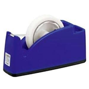 (業務用10セット)プラス テープカッター TC-201 ブルー