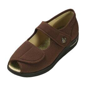 【クーポン配布中】マリアンヌ製靴 彩彩〜ちりめん〜 W1103 婦人用 /22.0cm ブラウン