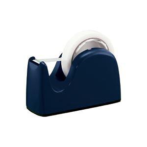 (業務用3セット)プラス テープカッターTC-301ネイビー 5台