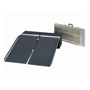 イーストアイポータブルスロープアルミ2折式タイプ(PVSシリーズ)】PVS150長さ152cm