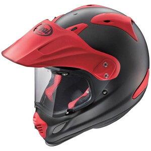 アライ(ARAI)オフロードヘルメットTOURCROSS3フラットブラック】レッド57-58cmM