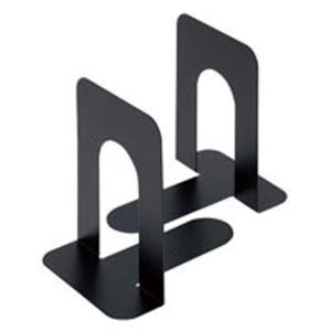 (まとめ買い)ジョインテックスブックエンドL黒2個】1組B168J-L-BK【×80セット】