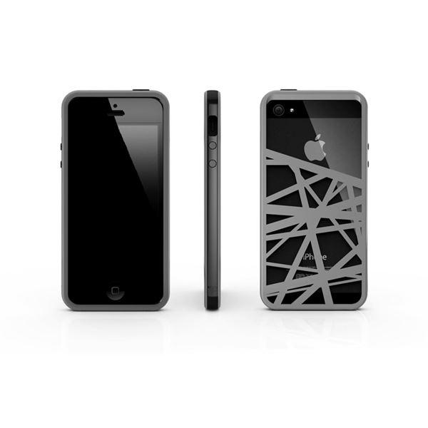 【ポイント20倍】CrossWay ブラック/グレー FB103-BKGY iPhone5用ケース
