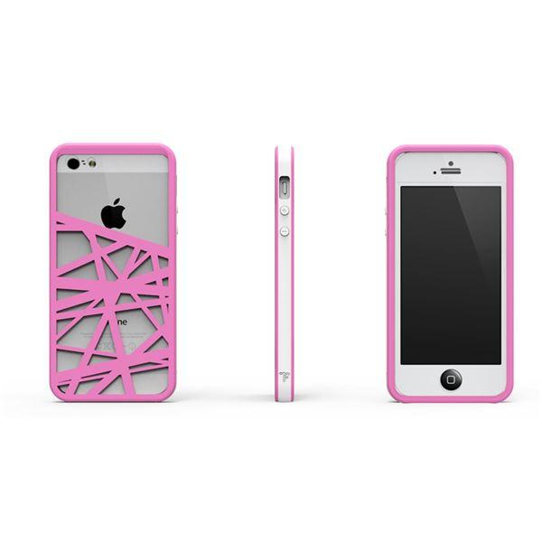 【ポイント20倍】CrossWay ホワイト/ピンク FB103-WHPK iPhone5用ケース