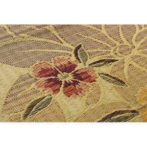 純国産袋織い草ラグカーペット『DXなでしこ』ベージュ約191×250cm(裏:不織布)