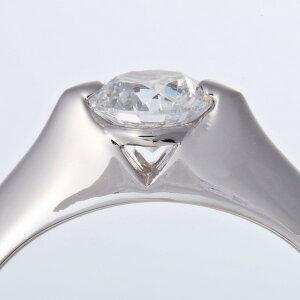 【スーパーセール割引商品】プラチナPt9000.5ctDカラー・IFクラス・EXカットダイヤリング指輪(GIA鑑定書付き)7号