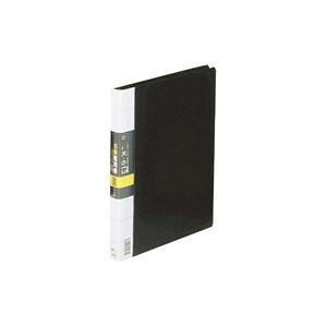 (業務用2セット)コレクト 名刺整理帳 K-613-BK A4L 300枚用 黒