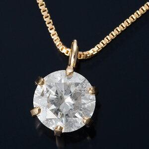 K180.3ctダイヤモンドペンダントベネチアンチェーン(鑑定書付き)