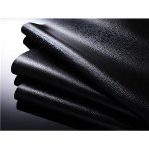 【送料無料】フロアベッドセミダブル【ポケットコイルマットレス:ハード付き】ブラックモダンデザインフロアベッド【MAD】マッド