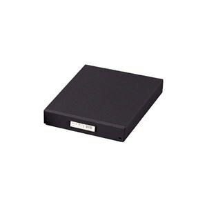 (業務用3セット) LIHITLAB デスクトレー(収納ボックス/書類整理) B4 フタ付き A-713 ブラック