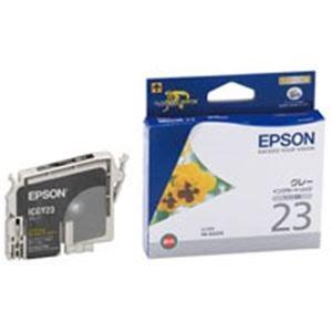 (業務用40セット)エプソンEPSONインクカートリッジICGY23グレー【×40セット】