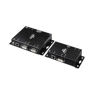 サンワサプライPoE対応DVIエクステンダー(セットモデル)VGA-EXDVPOE